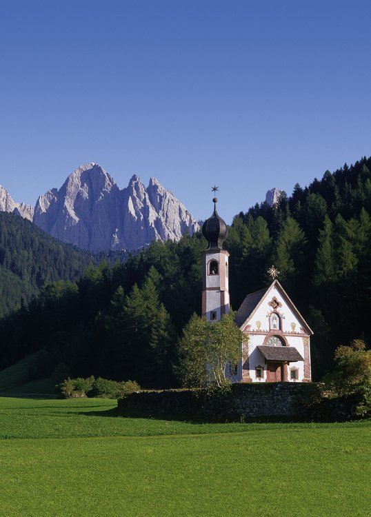 Church of St. John in Ranui, Val di Funes