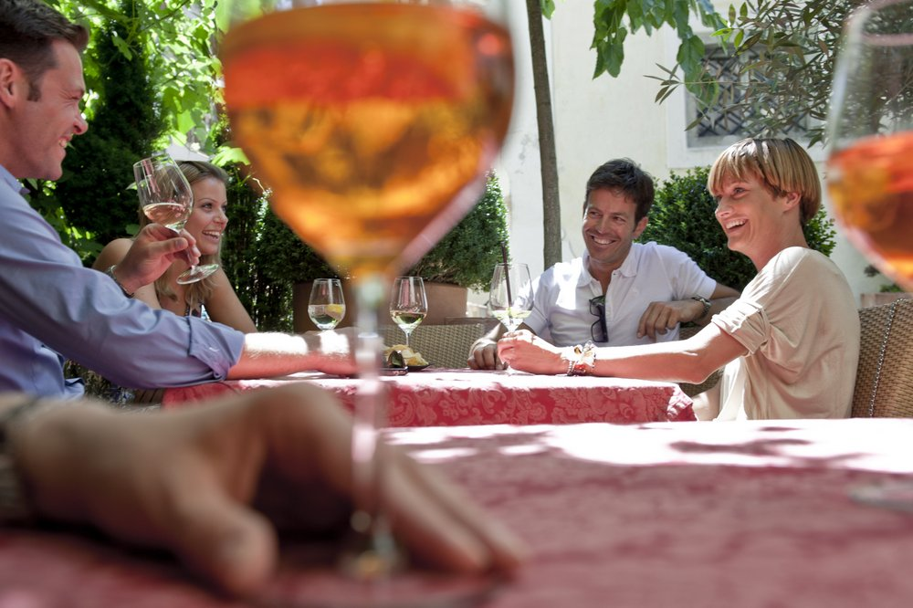 Aperitiv Brixen in the valley of trails
