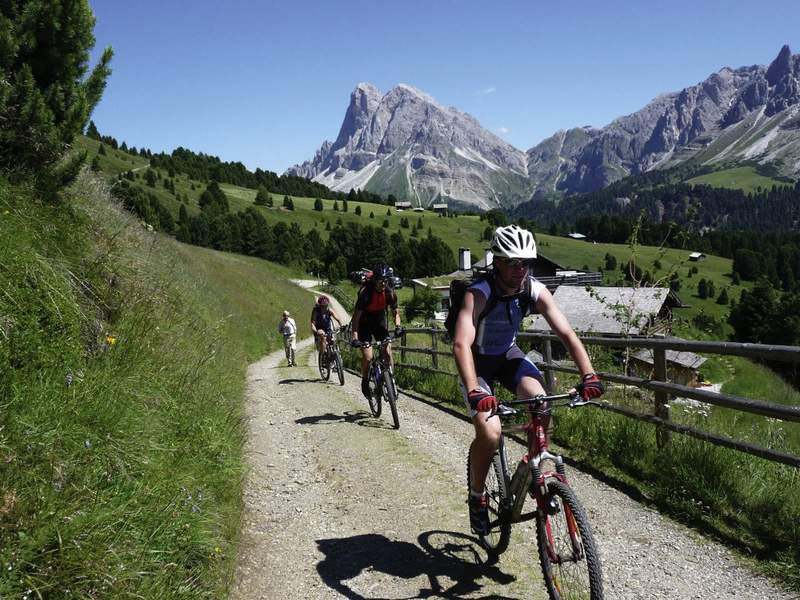 Mountainbiking sulla Plose in Valle Isarco