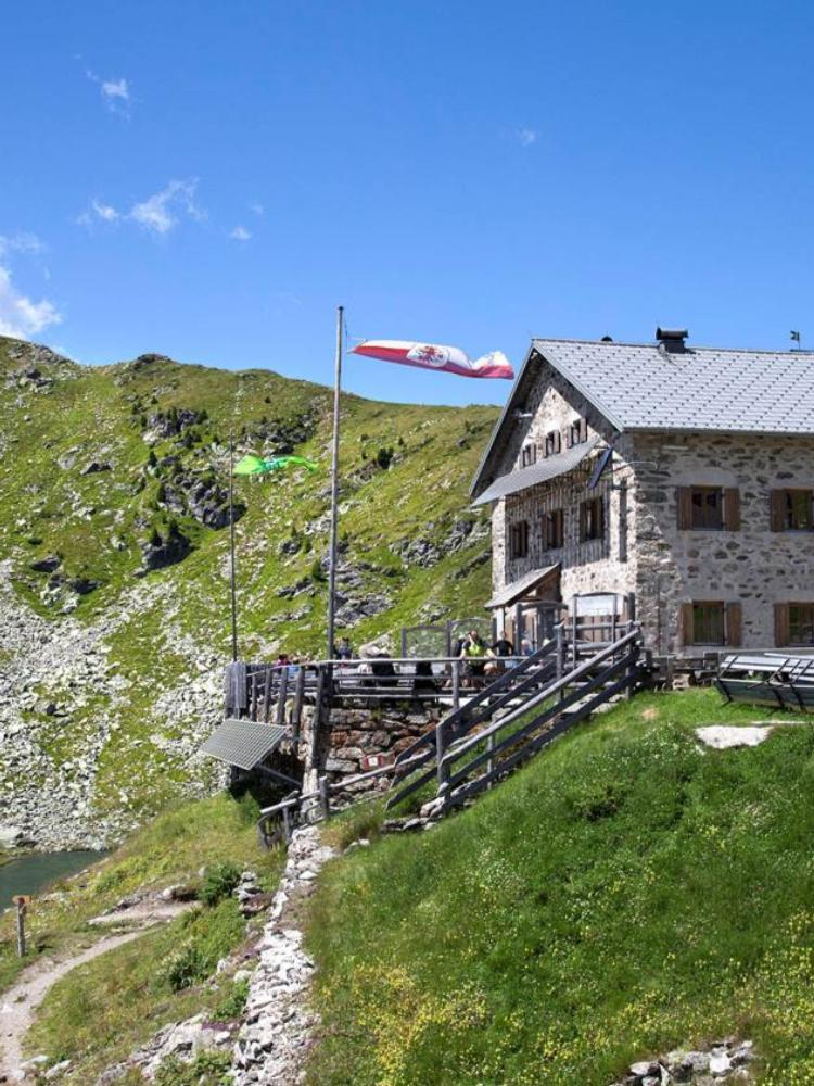 TOP Mountain Huts in the Valle Isarco/Eisacktal