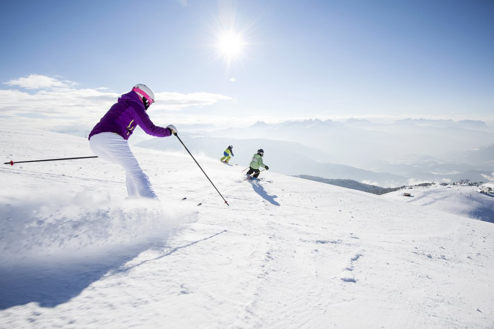 Skiing in the Isarco Valley