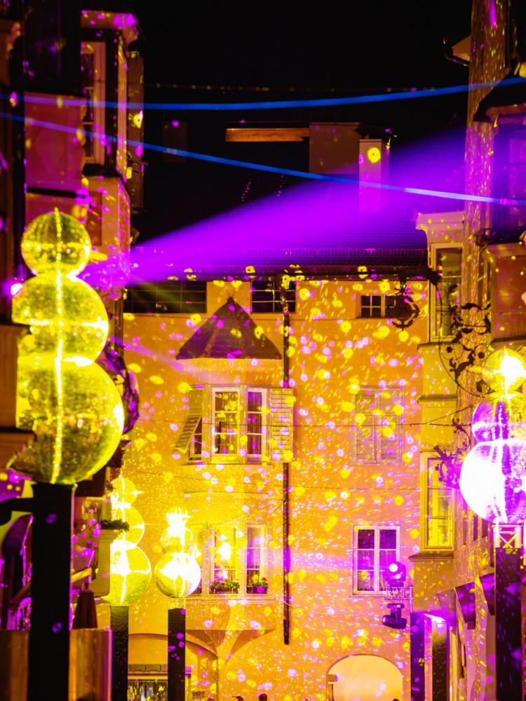 Water Light Festival Brixen/South Tyrol