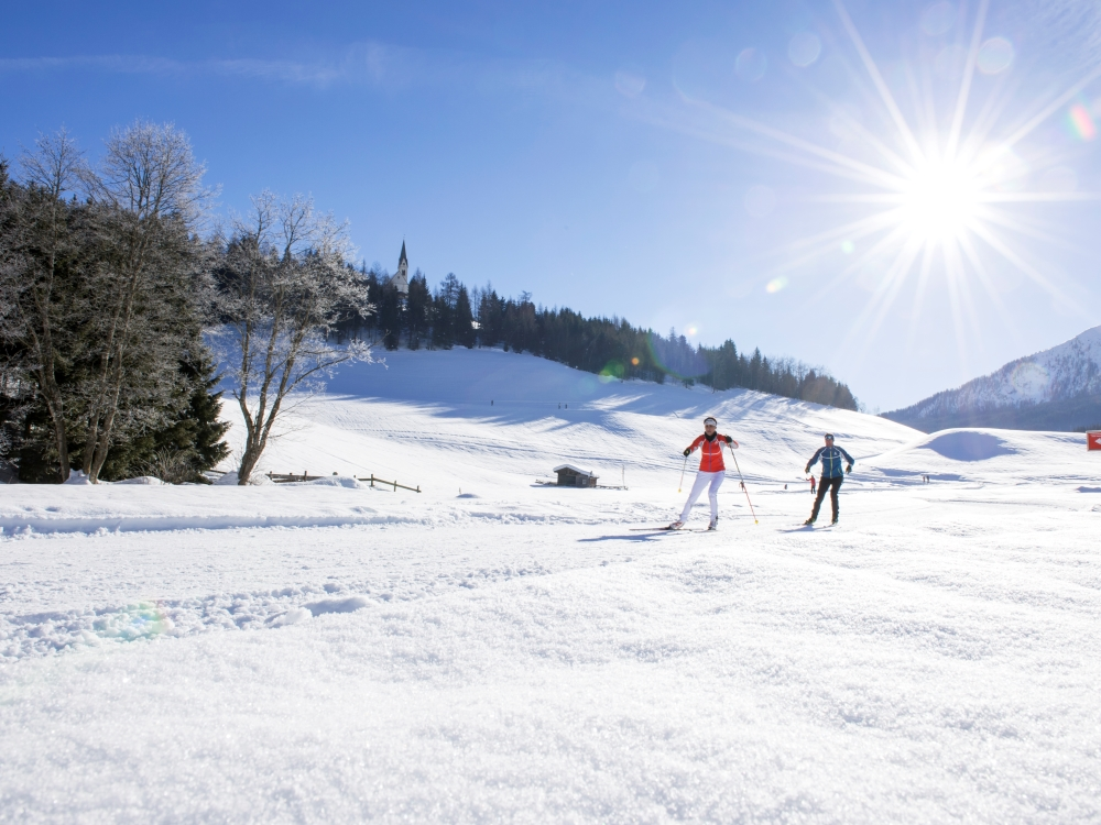 Cross-country skiing in Ridanna/Ridnaun