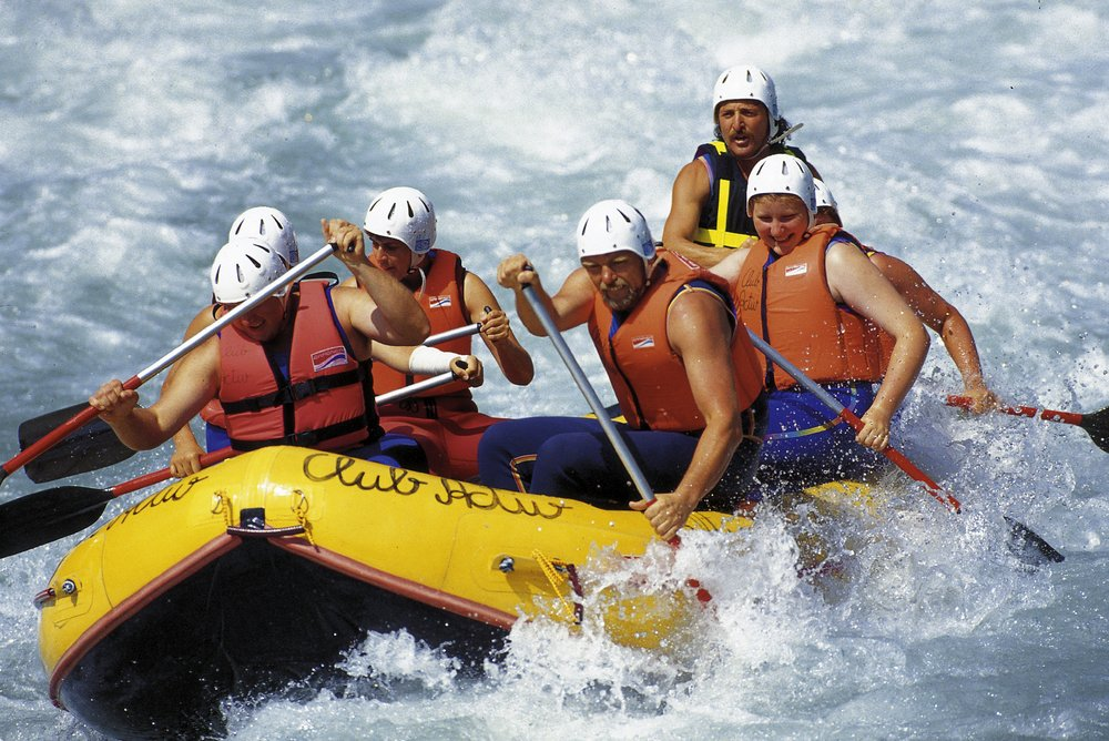 Rafting in Valle Isarco