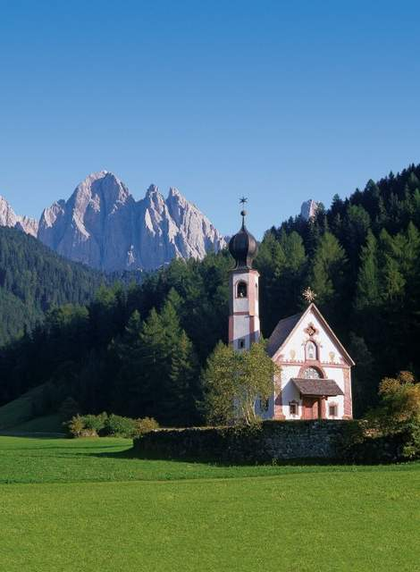 Church of St. John in Ranui in the valley of trails