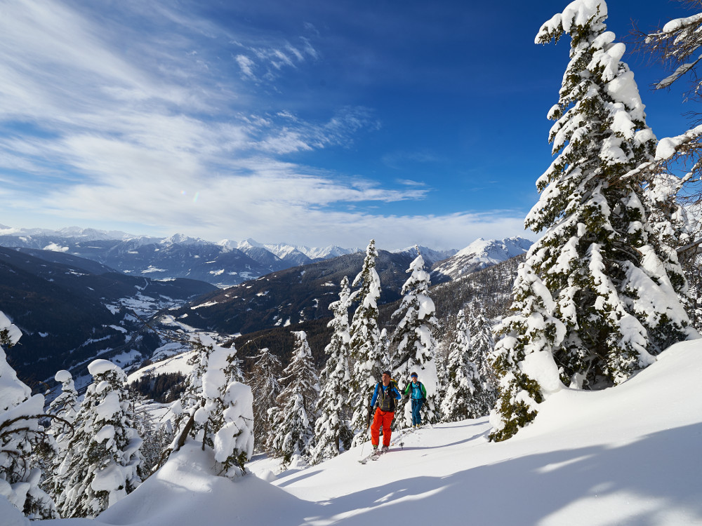 Guided Ski Tour Day